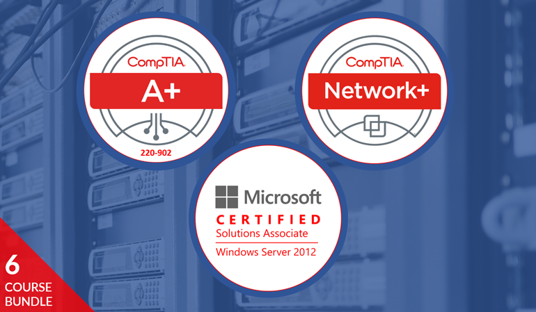 Comptia Essential Microsoft Certified Solutions Associate Mcsa